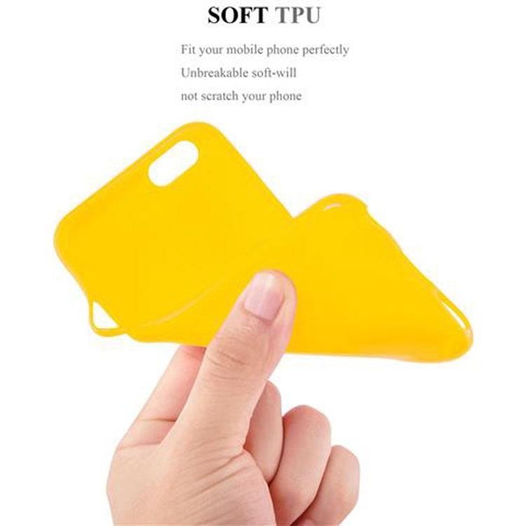 Custodia-Cover-Silicone-per-Apple-iPhone-6-6S-Morbida-TPU-Case miniatura 24