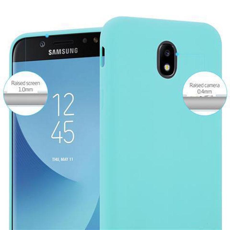 Custodia-Cover-Silicone-per-Samsung-Galaxy-J7-2017-TPU-Case-Protettiva miniatura 44
