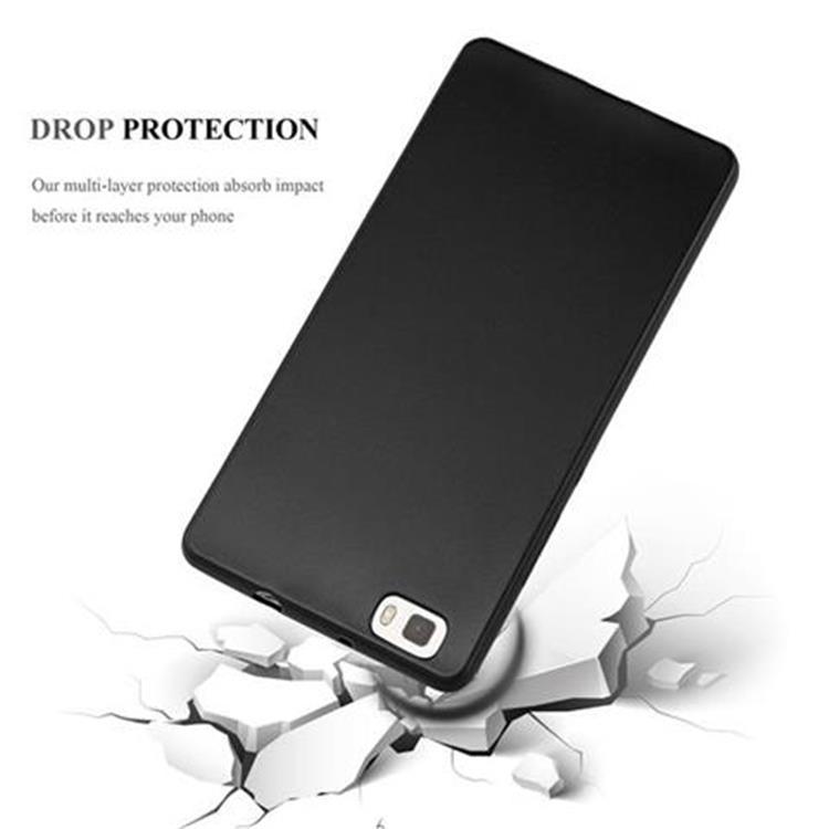 Custodia-Cover-Silicone-per-Huawei-P8-LITE-2015-TPU-Case-Metallico-Opaco miniatura 8