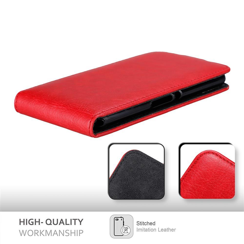 Custodia-per-Sony-Xperia-E3-FLIP-Cover-Protezione-Case-Conchiglia miniatura 9
