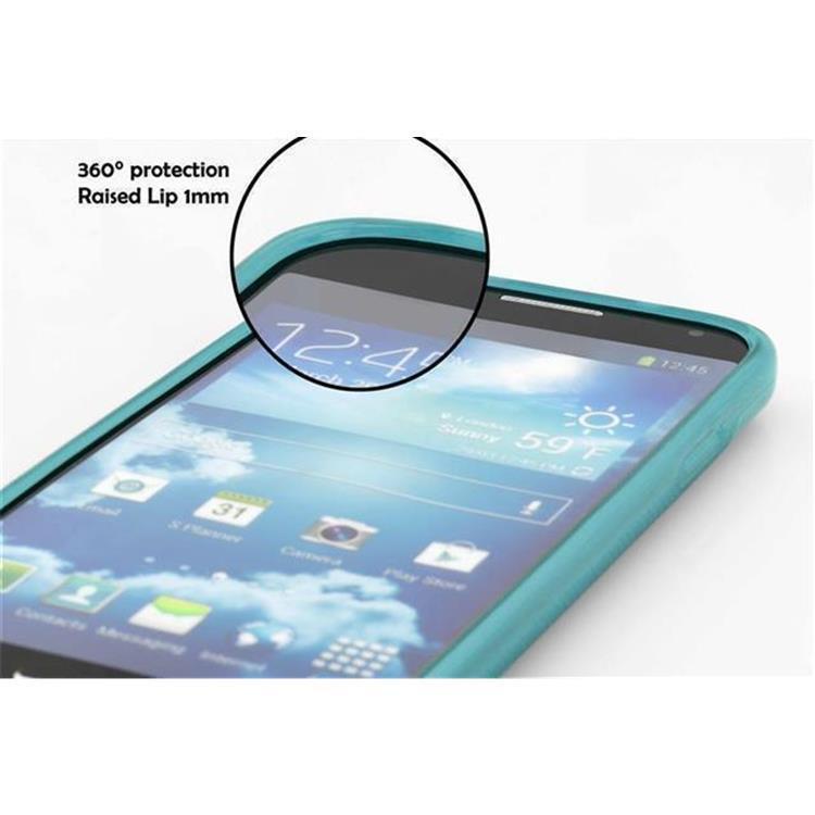 Custodia-Cover-Silicone-per-Huawei-P8-LITE-2015-TPU-Case-Effetto-Acciaio miniatura 21