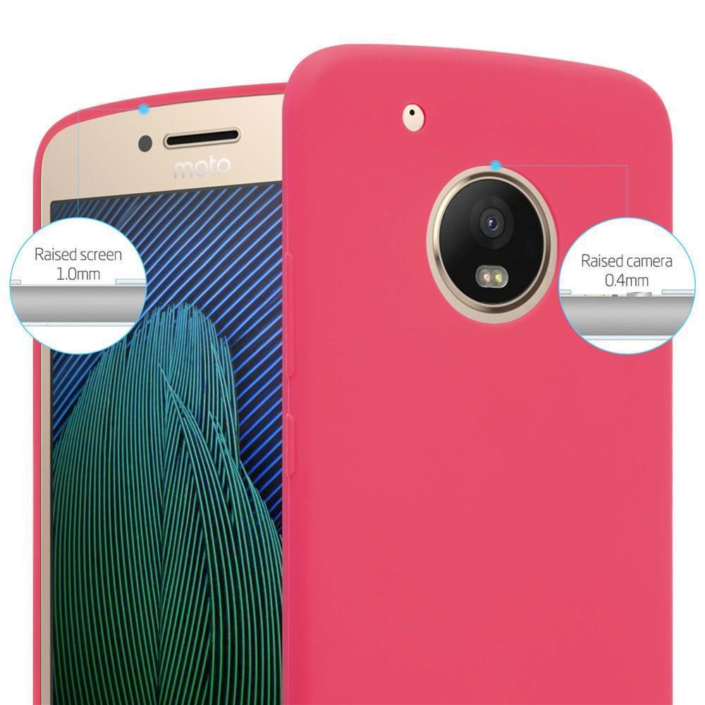 Custodia-Cover-Silicone-per-Motorola-MOTO-G5-PLUS-TPU-Case-Protettiva miniatura 9