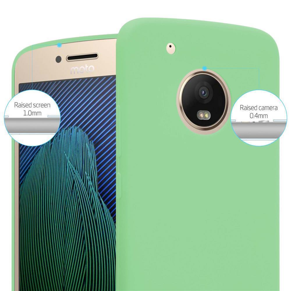 Custodia-Cover-Silicone-per-Motorola-MOTO-G5-PLUS-TPU-Case-Protettiva miniatura 23