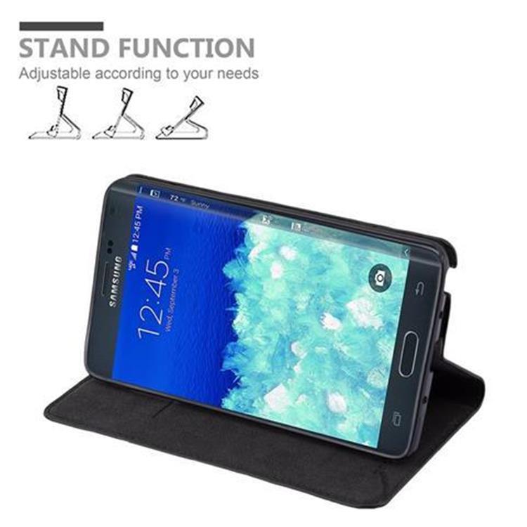 Custodia-per-Samsung-Galaxy-NOTE-EDGE-Portafoglio-Cover-Case-Magnetica-Libro miniatura 14