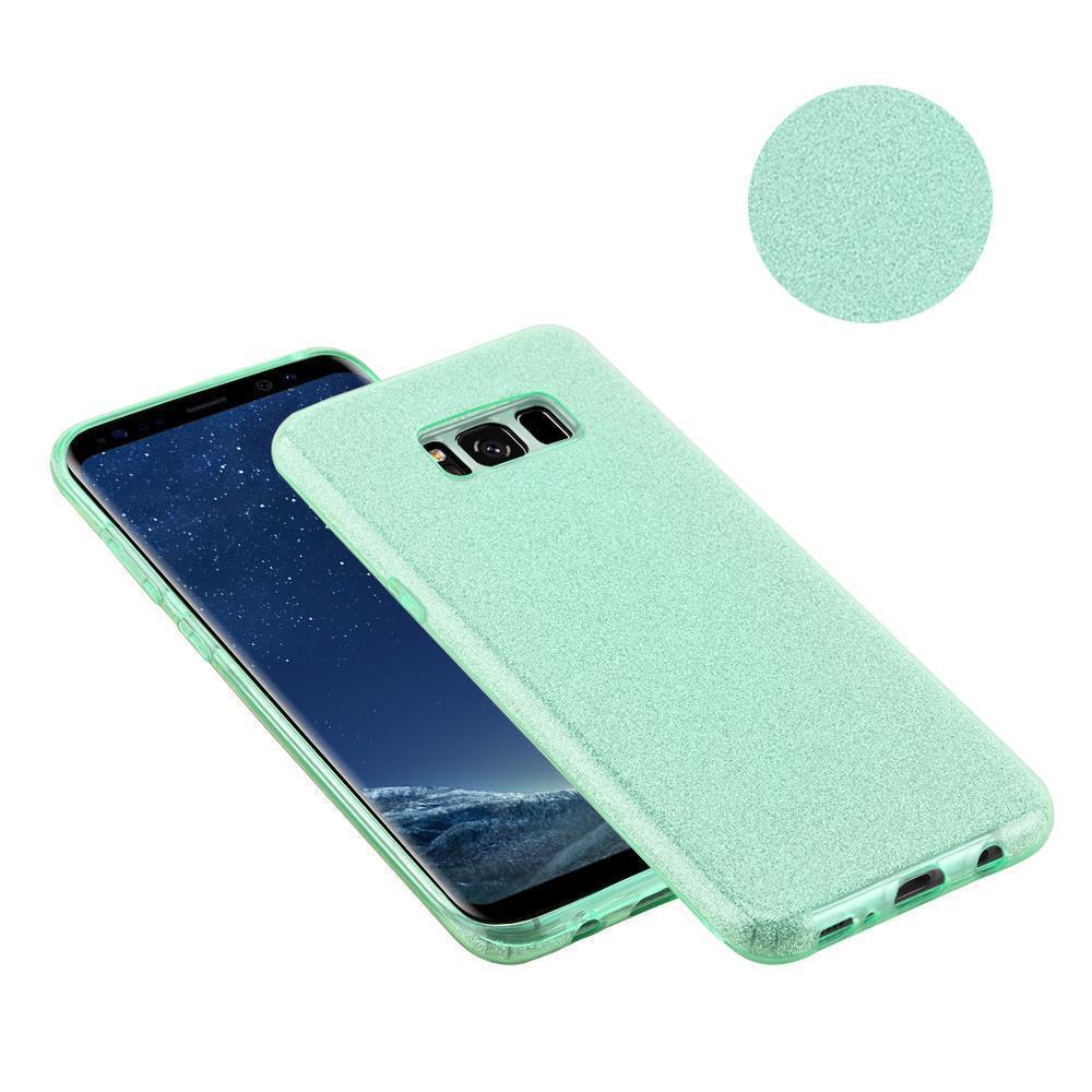 Custodia-Cover-Silicone-per-Samsung-Galaxy-S8-TPU-Case-Glitter miniatura 21