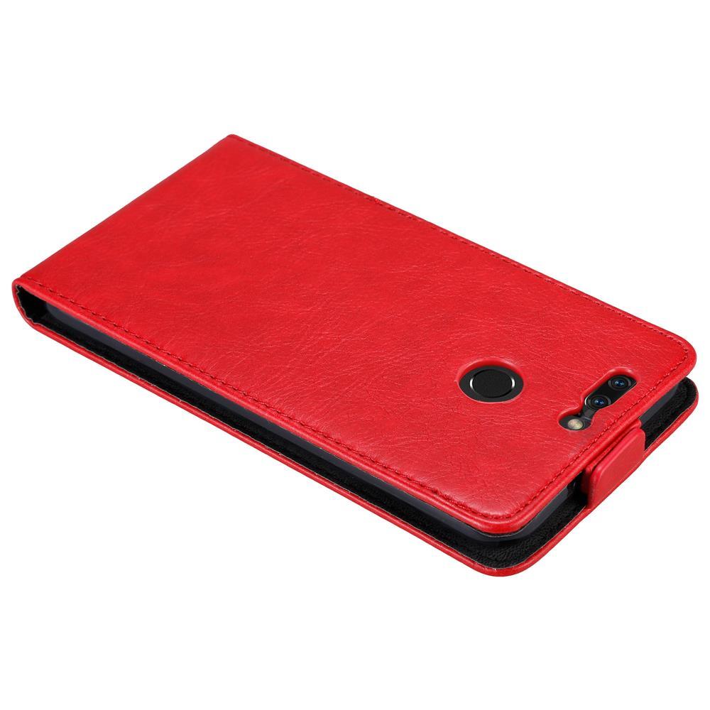 Custodia-per-Honor-8-PRO-FLIP-Cover-Protezione-Case-Conchiglia miniatura 7