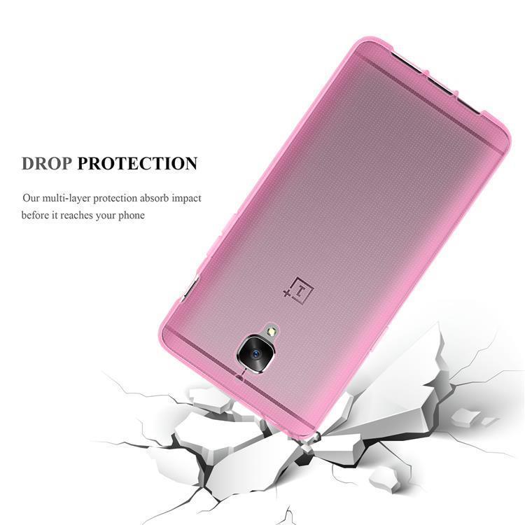 Custodia-Cover-Silicone-per-OnePlus-3-3T-TPU-Case-Ultra-Sottile miniatura 12