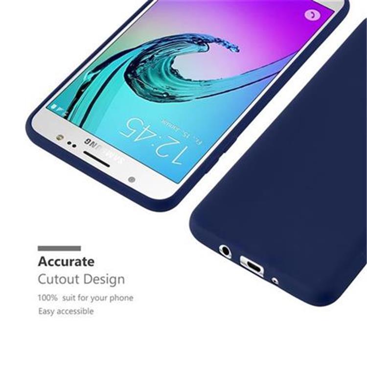 Custodia-Cover-Silicone-per-Samsung-Galaxy-J5-2016-TPU-Case-Protettiva miniatura 32