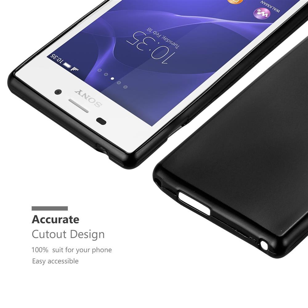 Custodia-Cover-Silicone-per-Sony-Xperia-M2-M2-Aqua-TPU-Case-Metallico-Opaco miniatura 9