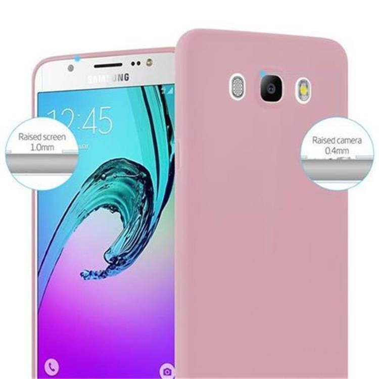 Custodia-Cover-Silicone-per-Samsung-Galaxy-J5-2016-TPU-Case-Protettiva miniatura 17