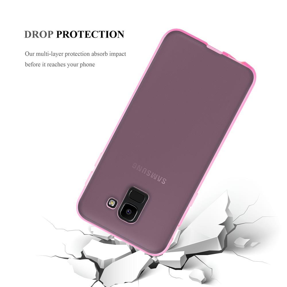 Custodia-Cover-Silicone-per-Samsung-Galaxy-J6-2018-TPU-Case-Ultra-Sottile miniatura 25