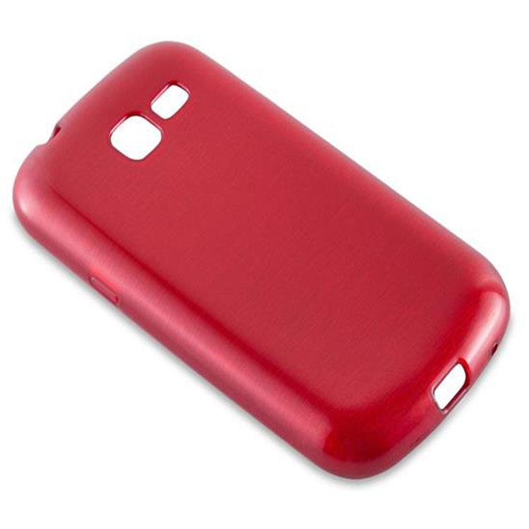 Custodia-Cover-Silicone-per-Samsung-Galaxy-TREND-LITE-TPU-Case-Effetto-Acciaio miniatura 22
