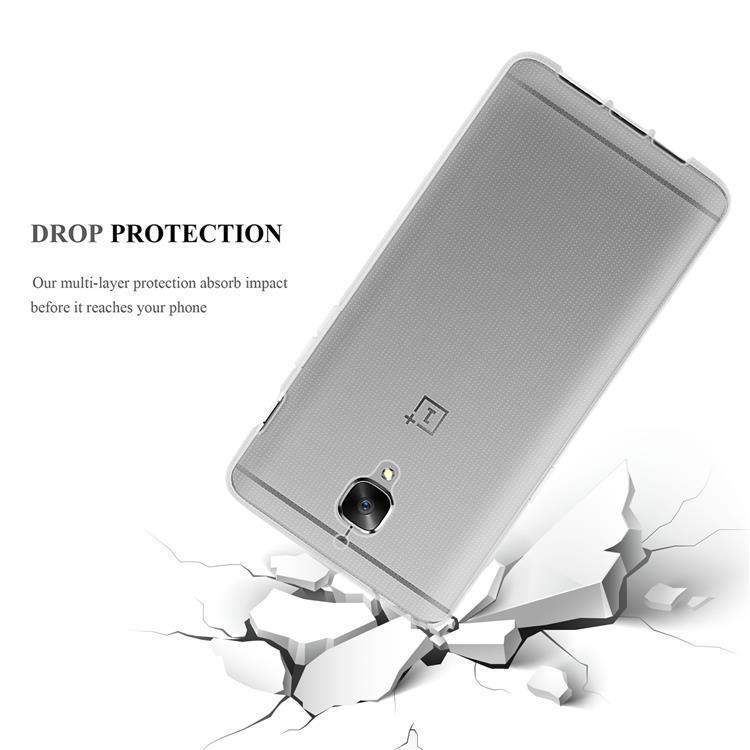 Custodia-Cover-Silicone-per-OnePlus-3-3T-TPU-Case-Ultra-Sottile miniatura 7