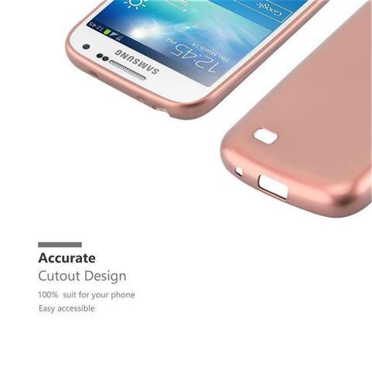 Custodia-Cover-Silicone-per-Samsung-Galaxy-S4-TPU-Case-Metallico-Opaco miniatura 24