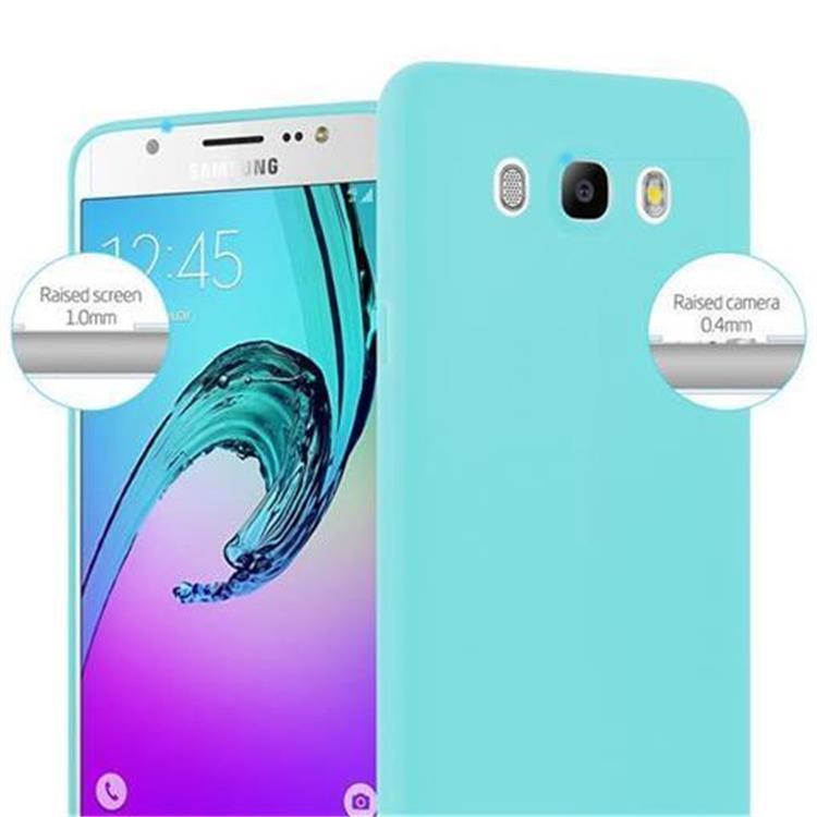 Custodia-Cover-Silicone-per-Samsung-Galaxy-J5-2016-TPU-Case-Protettiva miniatura 45