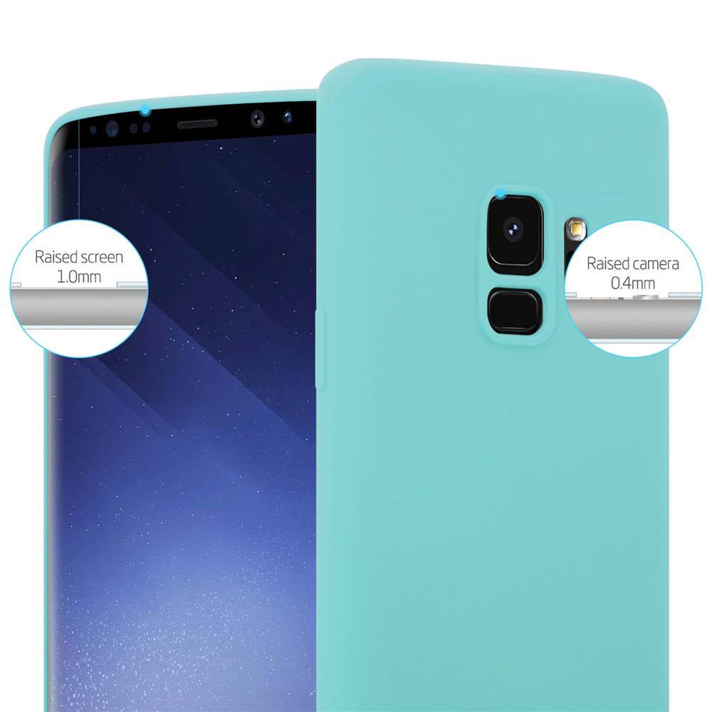 Custodia-Cover-Silicone-per-Samsung-Galaxy-S9-TPU-Case-Protettiva miniatura 44