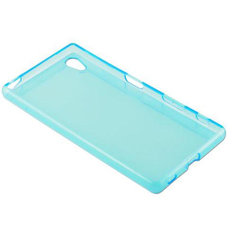 Custodia-Cover-Silicone-per-Sony-Xperia-Z5-TPU-Case-Ultra-Sottile miniatura 19