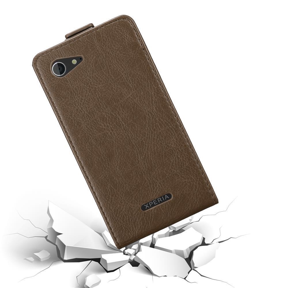 Custodia-per-Sony-Xperia-E3-FLIP-Cover-Protezione-Case-Conchiglia miniatura 18