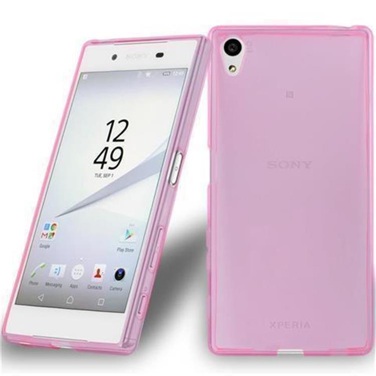 Custodia-Cover-Silicone-per-Sony-Xperia-Z5-TPU-Case-Ultra-Sottile miniatura 16