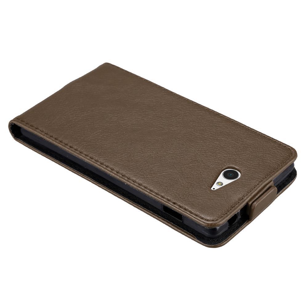 Custodia-per-Sony-Xperia-M2-M2-AQUA-FLIP-Cover-Protezione-Case-Conchiglia miniatura 17