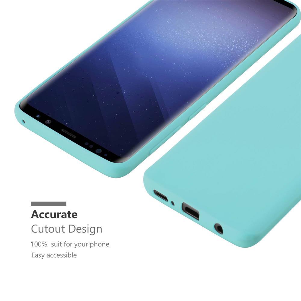 Custodia-Cover-Silicone-per-Samsung-Galaxy-S9-TPU-Case-Protettiva miniatura 45