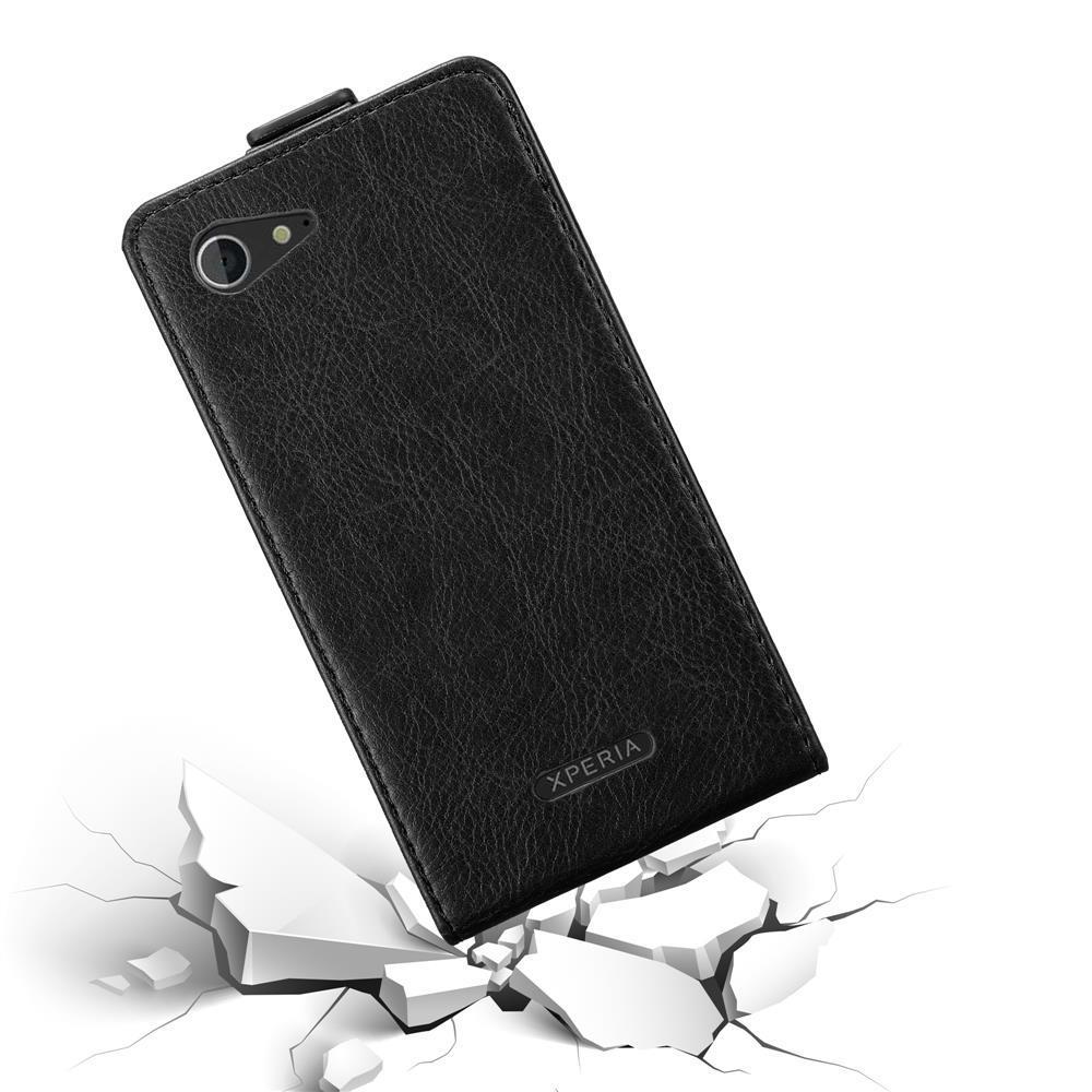 Custodia-per-Sony-Xperia-E3-FLIP-Cover-Protezione-Case-Conchiglia miniatura 13