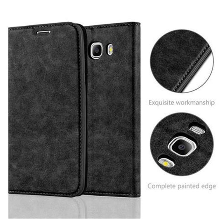 Custodia-per-Samsung-Galaxy-J7-2016-Portafoglio-Cover-Case-Magnetica-Libro miniatura 24