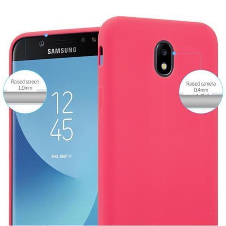Custodia-Cover-Silicone-per-Samsung-Galaxy-J7-2017-TPU-Case-Protettiva miniatura 9