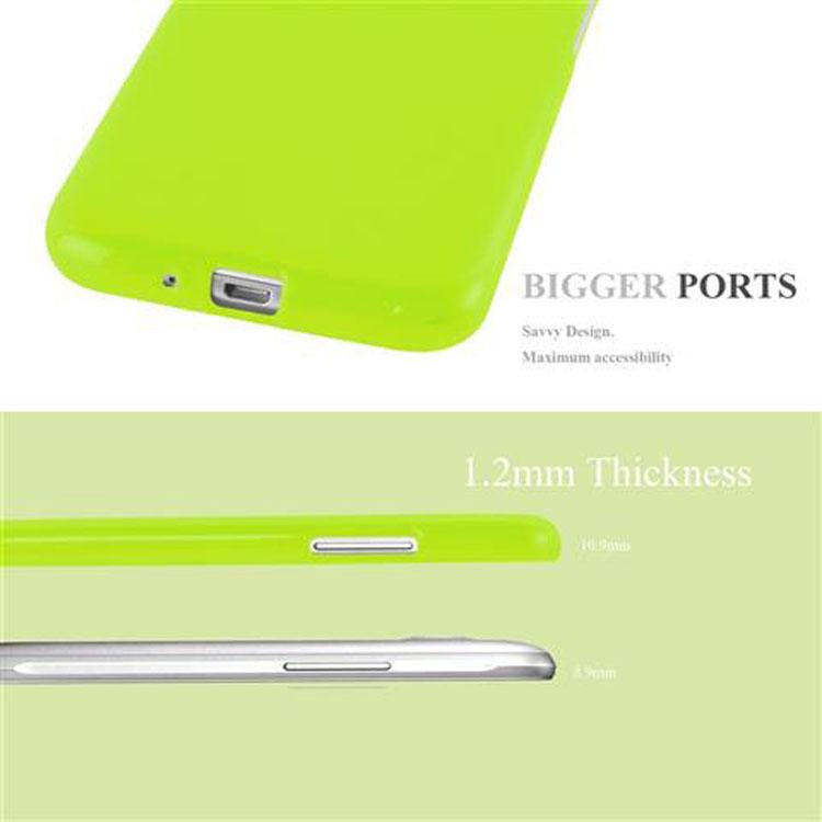 Custodia-Cover-Silicone-per-Samsung-Galaxy-J1-2015-Morbida-TPU-Case miniatura 17
