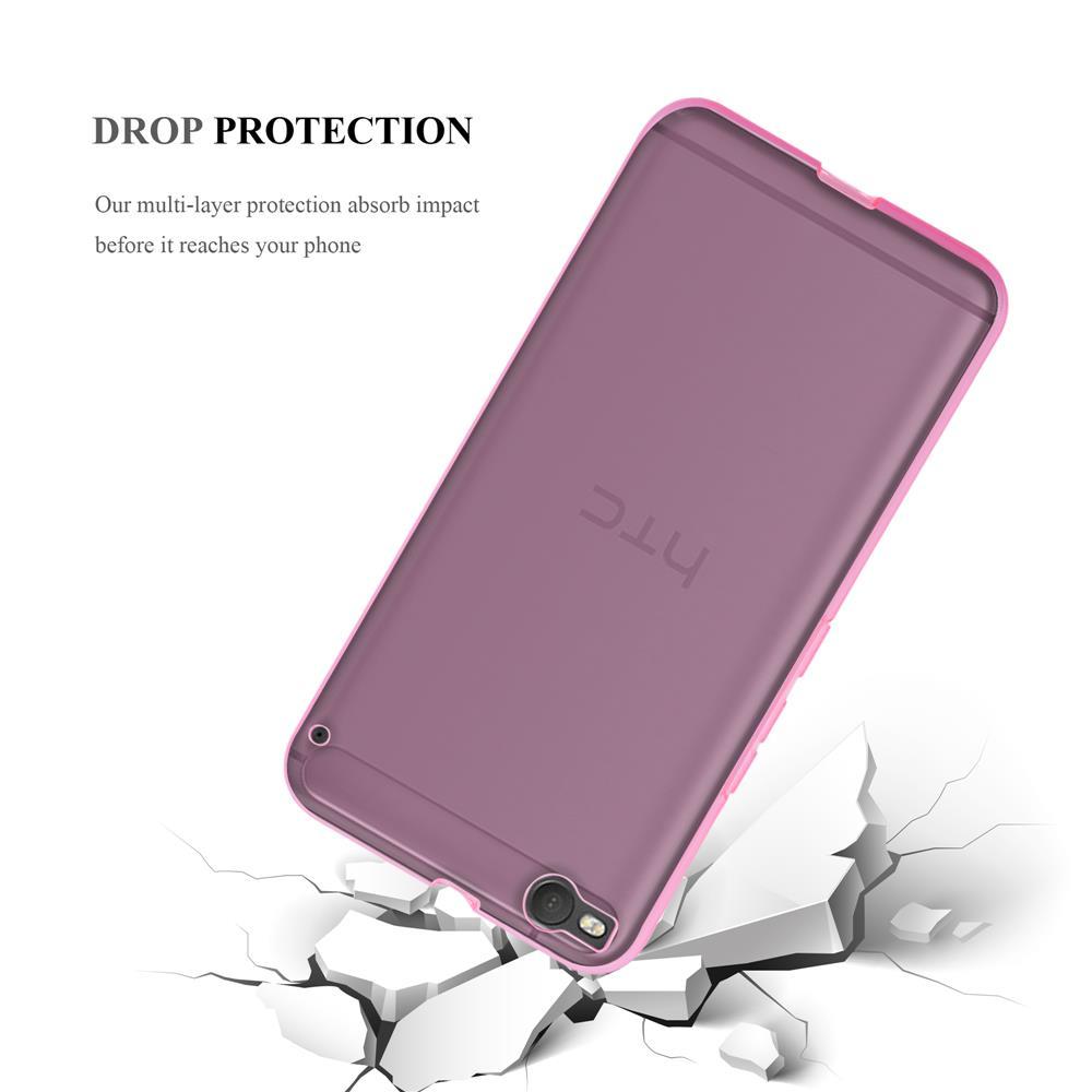 Custodia-Cover-Silicone-per-HTC-One-X9-TPU-Case-Ultra-Sottile miniatura 18
