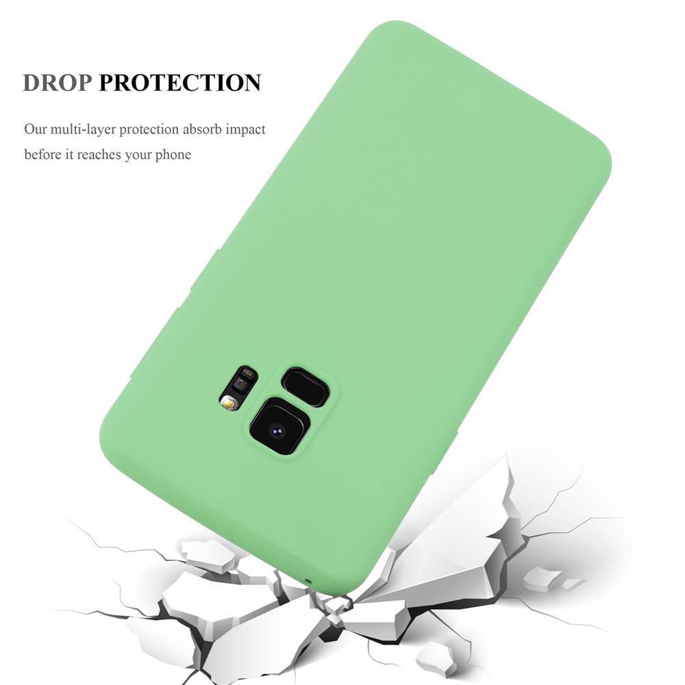 Custodia-Cover-Silicone-per-Samsung-Galaxy-S9-TPU-Case-Protettiva miniatura 21