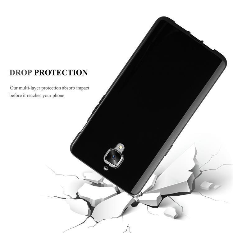 Custodia-Cover-Silicone-per-OnePlus-3-3T-TPU-Case-Ultra-Sottile miniatura 17
