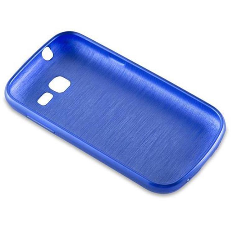 Custodia-Cover-Silicone-per-Samsung-Galaxy-TREND-LITE-TPU-Case-Effetto-Acciaio miniatura 27