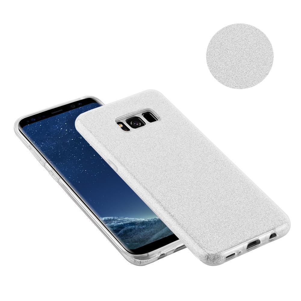 Custodia-Cover-Silicone-per-Samsung-Galaxy-S8-TPU-Case-Glitter miniatura 27