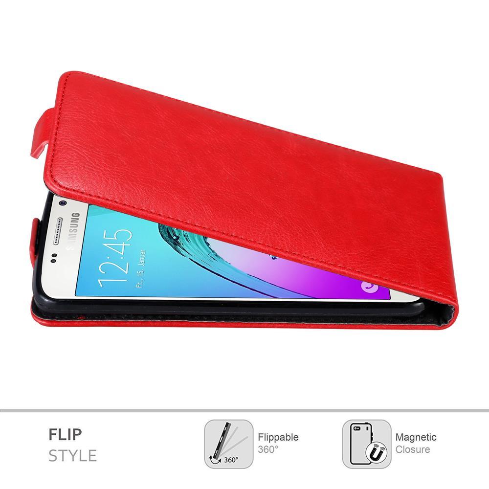 Custodia-per-Samsung-Galaxy-A3-2016-FLIP-Cover-Protezione-Case-Conchiglia miniatura 6