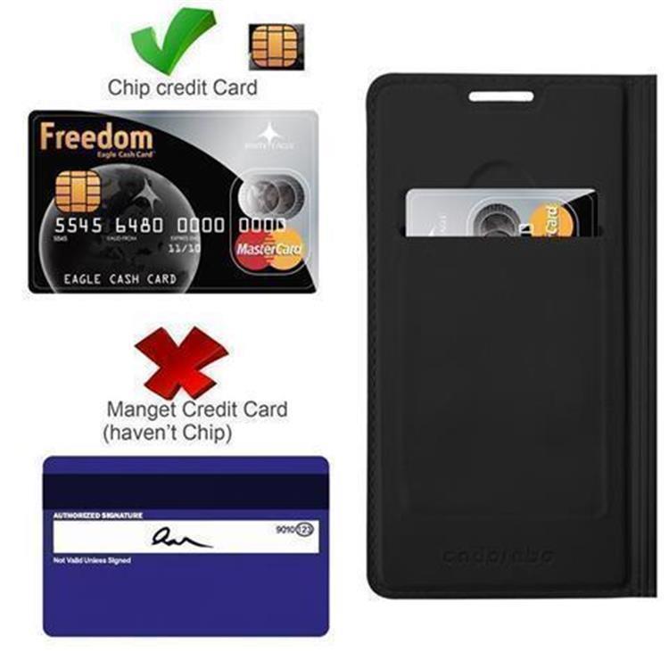 Custodia-Cover-per-Samsung-Galaxy-S5-MINI-DUOS-Metallico-Case-Libro-Portafoglio miniatura 6