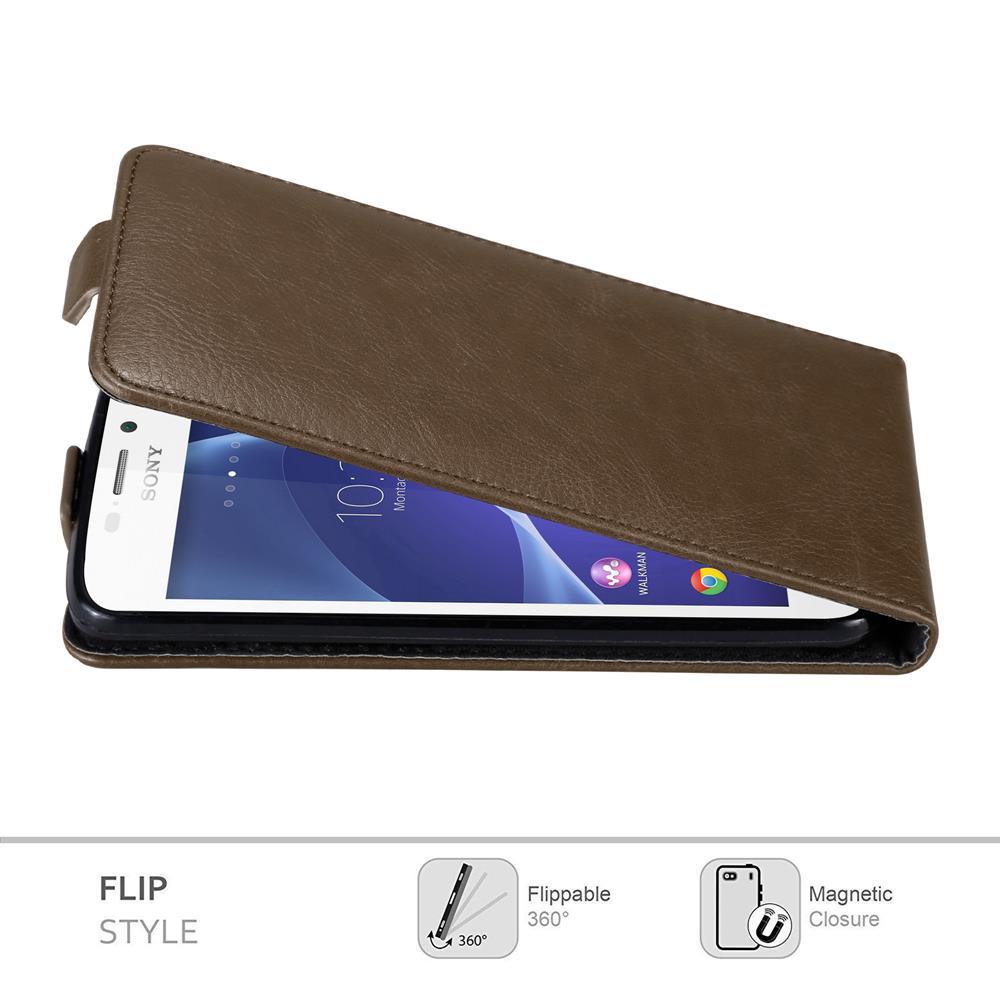 Custodia-per-Sony-Xperia-M2-M2-AQUA-FLIP-Cover-Protezione-Case-Conchiglia miniatura 16