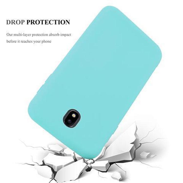 Custodia-Cover-Silicone-per-Samsung-Galaxy-J7-2017-TPU-Case-Protettiva miniatura 42