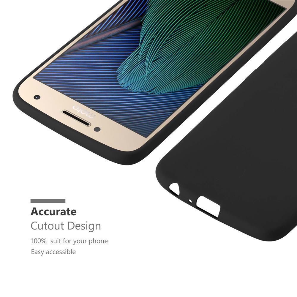 Custodia-Cover-Silicone-per-Motorola-MOTO-G5-PLUS-TPU-Case-Protettiva miniatura 38