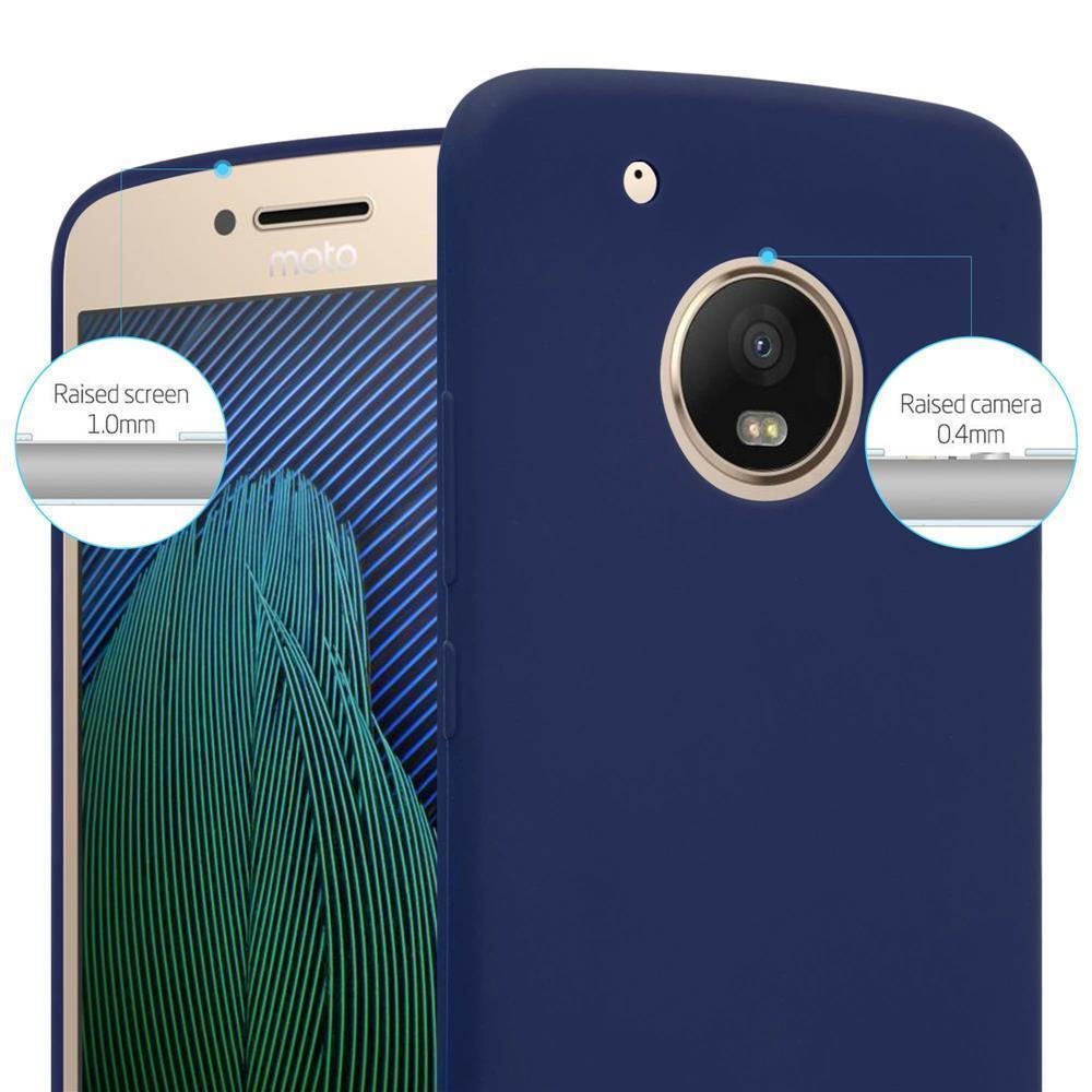 Custodia-Cover-Silicone-per-Motorola-MOTO-G5-PLUS-TPU-Case-Protettiva miniatura 30