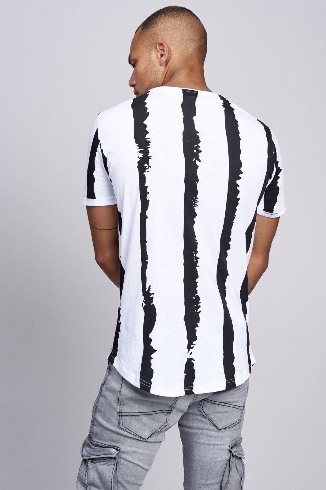 T-shirt-da-Uomo-Polo-Shirt-a-Maniche-Corte-printshirt-Polo-a-Maniche-Corte-17018-John-Kayna miniatura 11