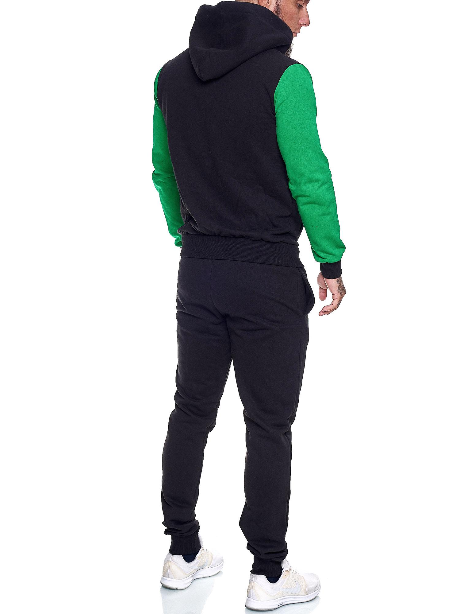 Damen-Jogginganzug-Frauen-Trainingsanzug-Sportanzug-Streetwear-JG-512-John-Kayna Indexbild 27