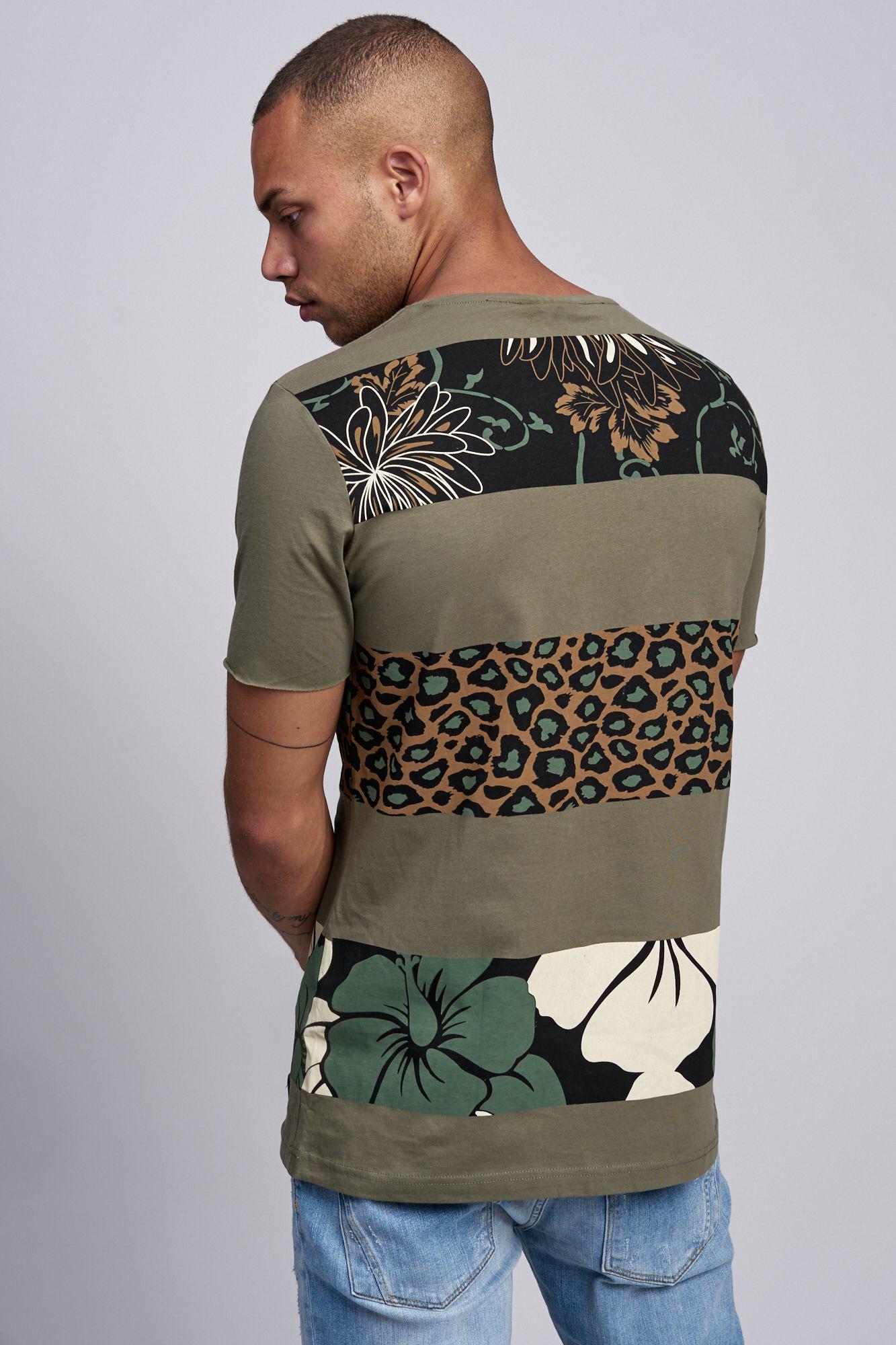 T-shirt-da-Uomo-Polo-Shirt-a-Maniche-Corte-printshirt-Polo-a-Maniche-Corte-17019-John-Kayna miniatura 12