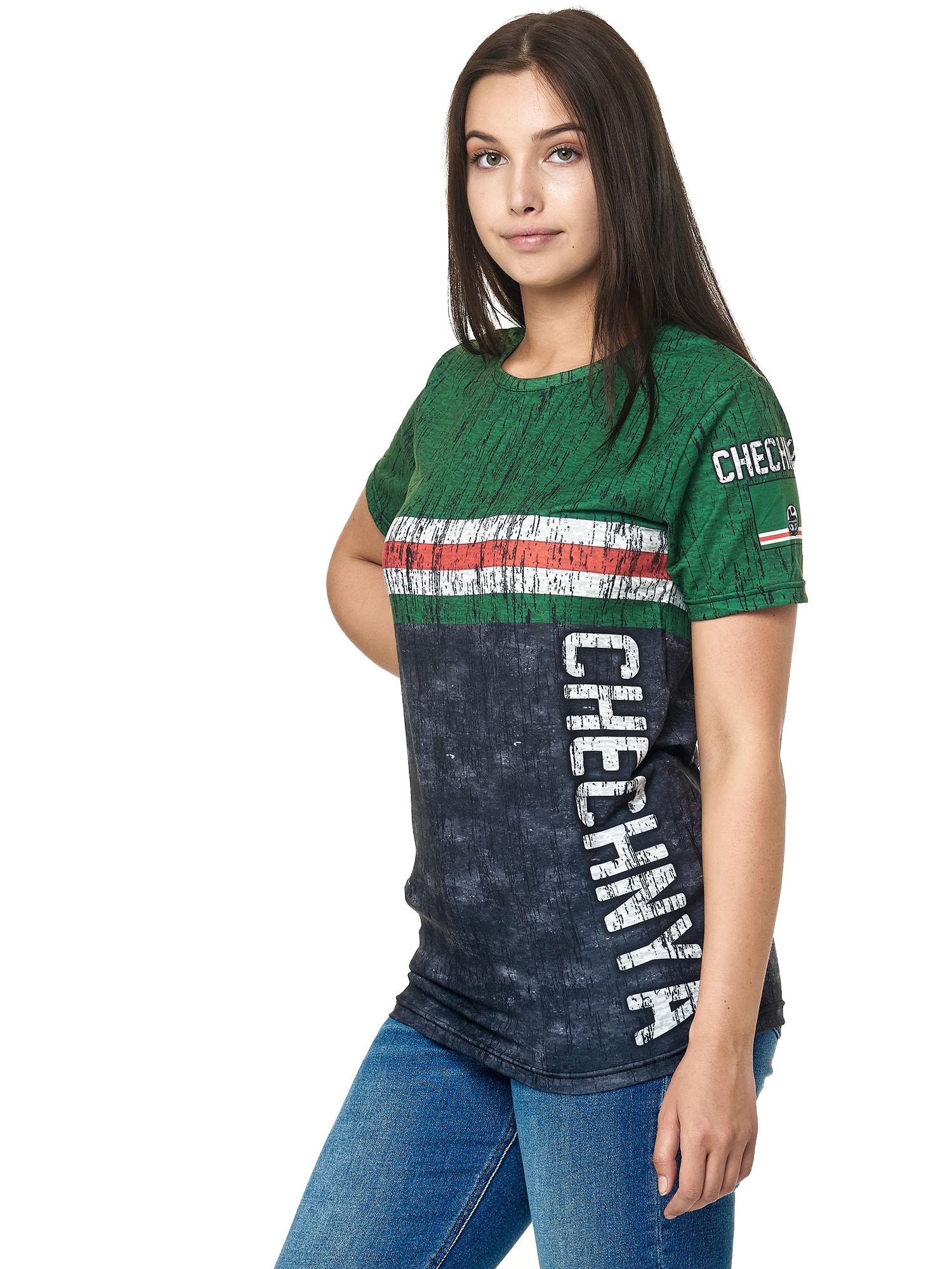 Paesi-da-Donna-T-shirt-A-Maniche-Corte-Girocollo-donne-CALCIO-Fanshirt-John-Kayna miniatura 38