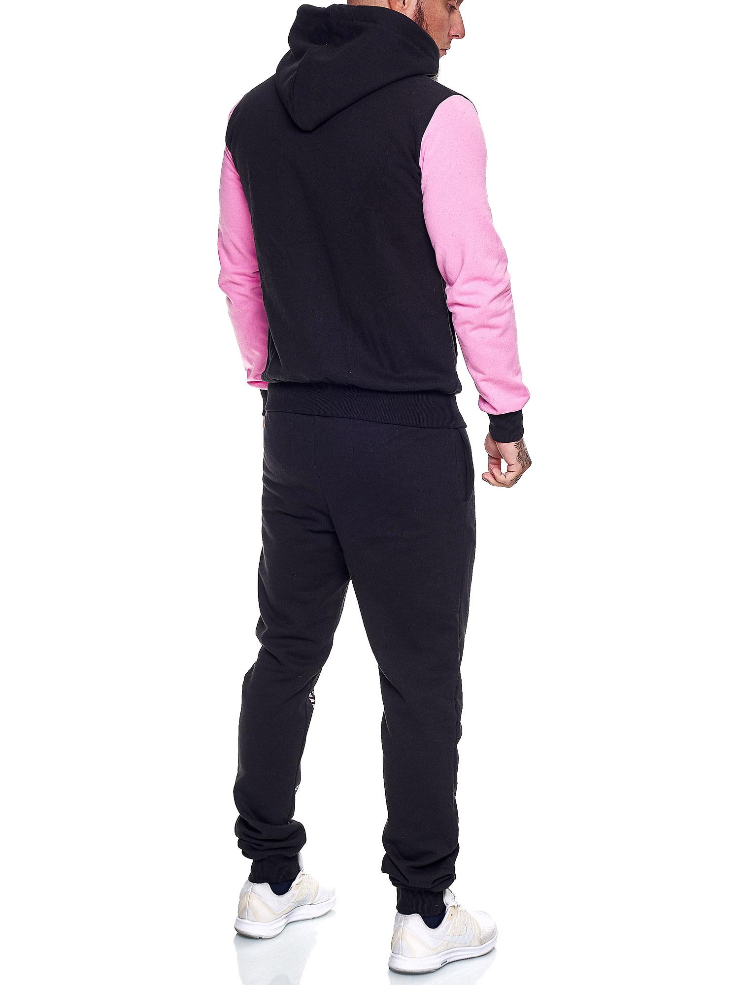 Damen-Jogginganzug-Frauen-Trainingsanzug-Sportanzug-Streetwear-JG-512-John-Kayna Indexbild 39
