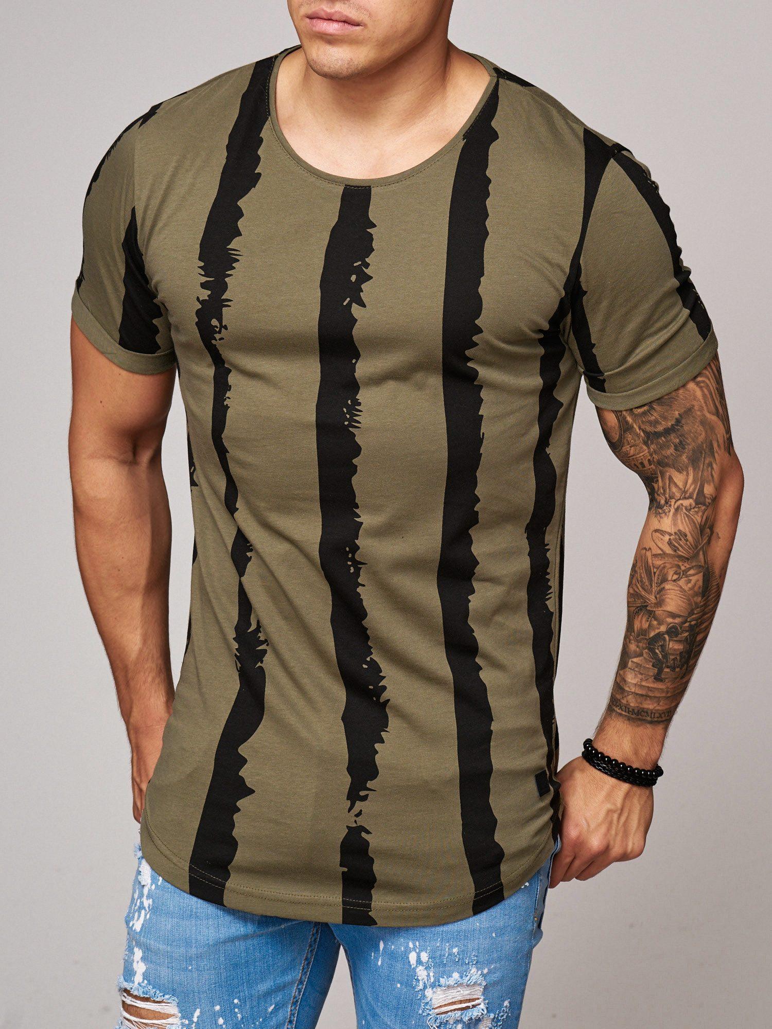 T-shirt-da-Uomo-Polo-Shirt-a-Maniche-Corte-printshirt-Polo-a-Maniche-Corte-17018-John-Kayna miniatura 16