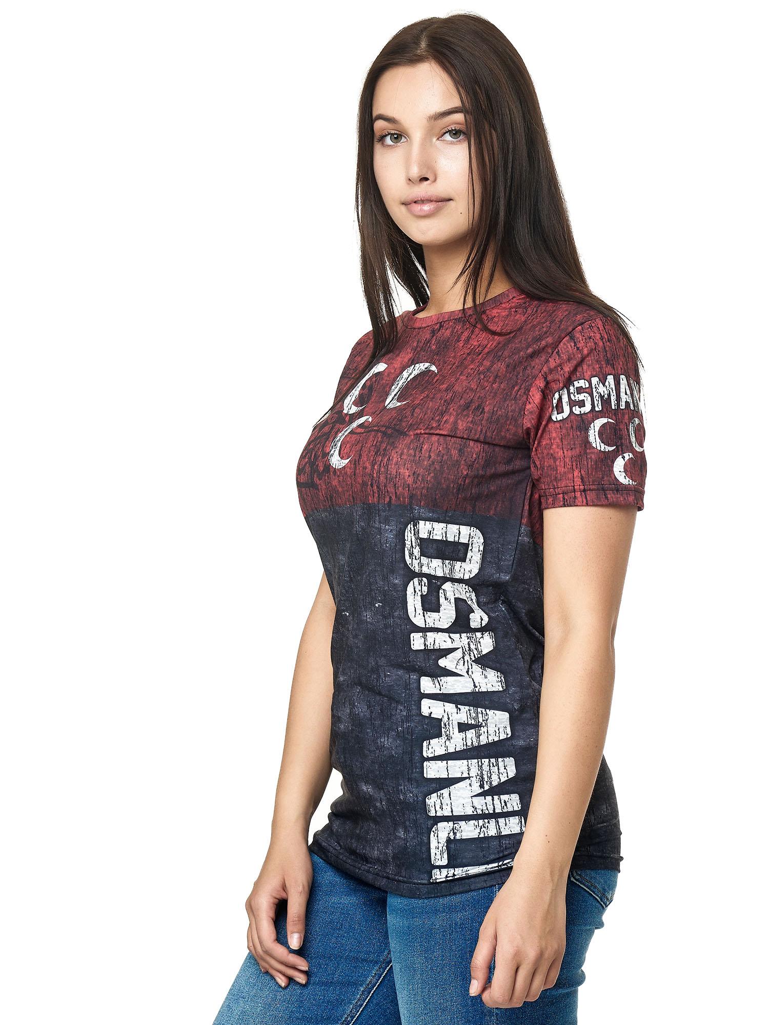 Paesi-da-Donna-T-shirt-A-Maniche-Corte-Girocollo-donne-CALCIO-Fanshirt-John-Kayna miniatura 82