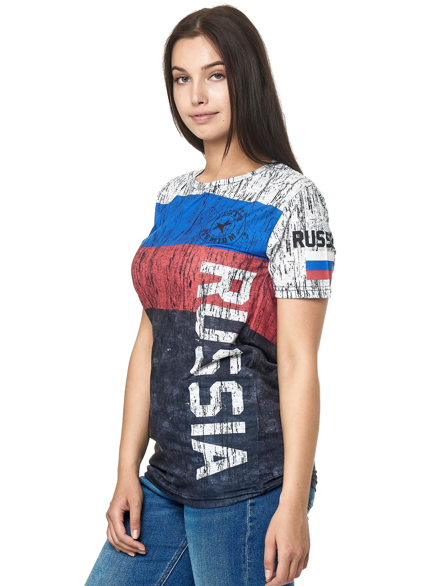 Paesi-da-Donna-T-shirt-A-Maniche-Corte-Girocollo-donne-CALCIO-Fanshirt-John-Kayna miniatura 97