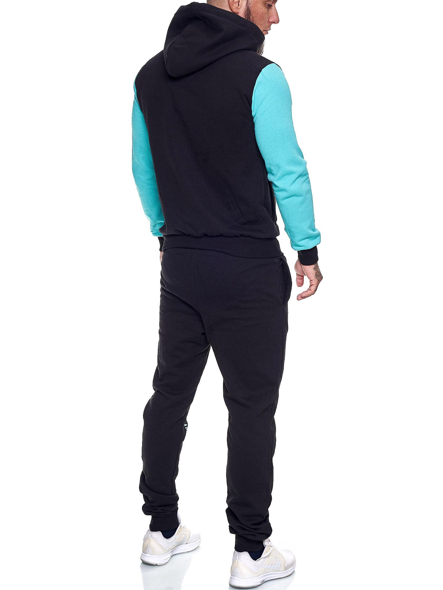 Damen-Jogginganzug-Frauen-Trainingsanzug-Sportanzug-Streetwear-JG-512-John-Kayna Indexbild 45
