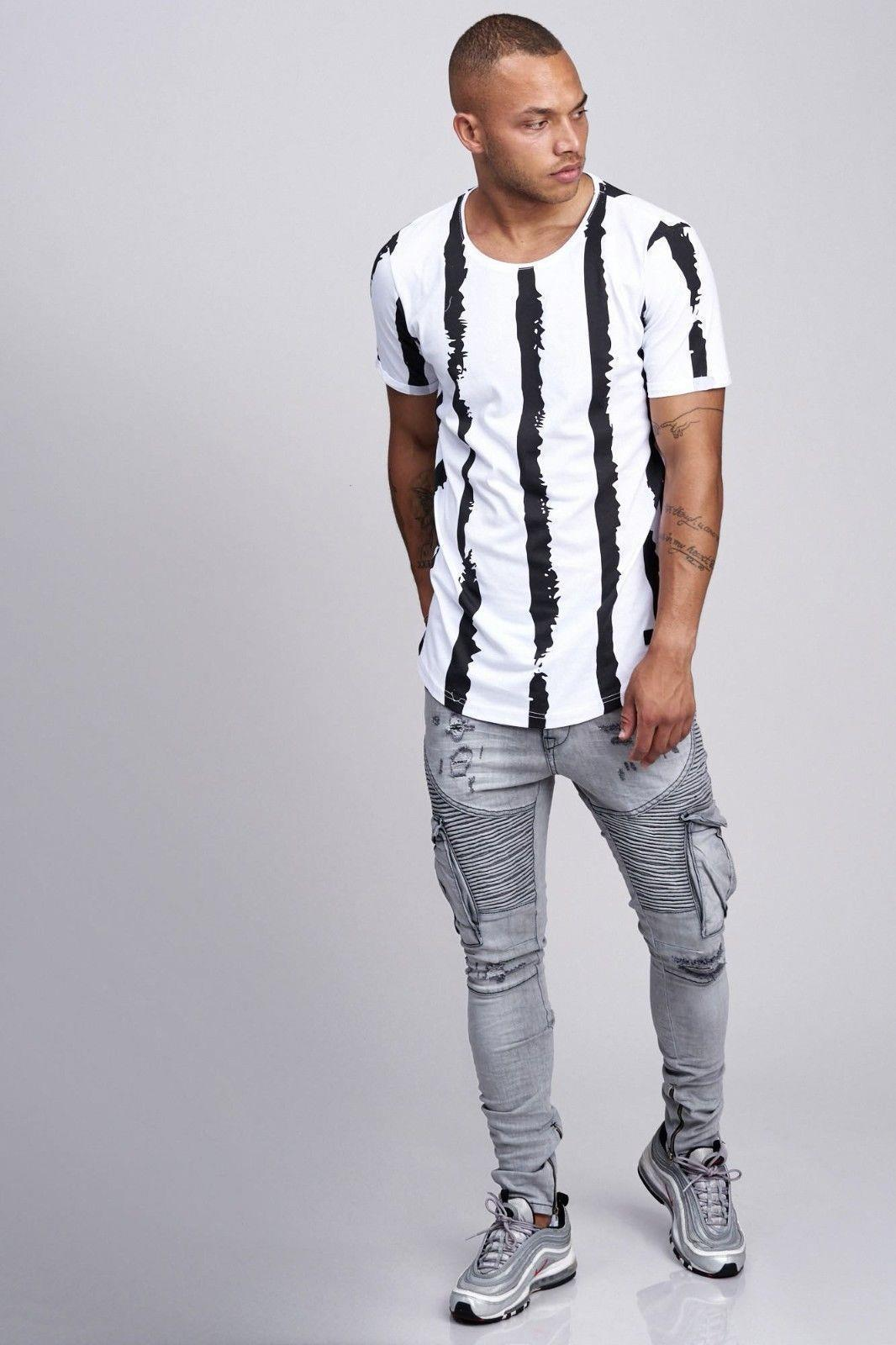 T-shirt-da-Uomo-Polo-Shirt-a-Maniche-Corte-printshirt-Polo-a-Maniche-Corte-17018-John-Kayna miniatura 5